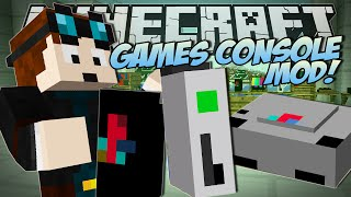 Minecraft | GAMES CONSOLE MOD (Xbox, Playstation & More!) | Mod Showcase