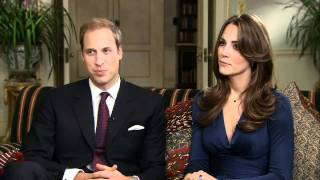 Prince William & Kate Middleton - The Interview (Part 1)