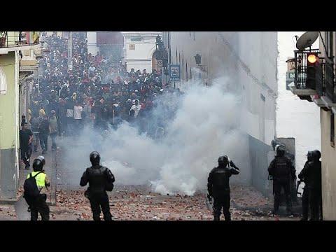 العرب اليوم - شاهد: محتجون يقتحمون مقرّ البرلمان في الإكوادرو مع تصاعد حدة التظاهرات