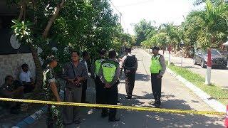 Suasana Perumahan Terduga Teroris di Sukodono Sidoarjo yang Ditangkap oleh Tim Densus 88
