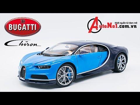 ĐÁNH GIÁ NHANH | BUGATTI CHIRON 1:18 GT AUTOS [AUTONO1.COM.VN]