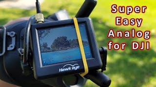 Hawkeye Little Pilot Master & XITU Mini FPV Monitors ????