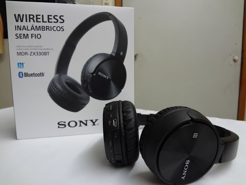 Audífonos Sony MDR-ZX330BT Bluetooth | Review |