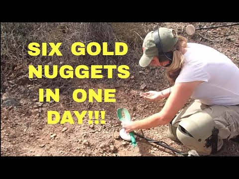 Six Gold Nuggets In One Day! | Aquachigger