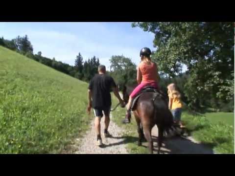 Reiten auf Pony Lisa