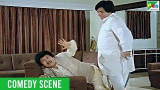 Kader Khan - Funny Scene | Jawab Hum Denge Comedy Scene | Full Hindi Movie | Jackie Shroff, Sridevi
