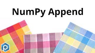 Python NumPy | Append