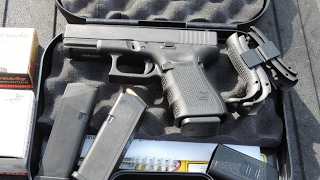 Glock 19 Gen 4 Unboxing & First Shots