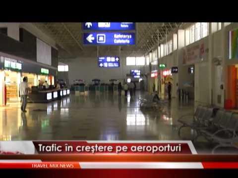 Trafic în creştere pe aeroporturi