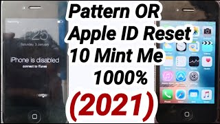 Iphone is Disabled fix all Iphone Disabled unlock 4,4s,5,5s,6,6s,7,7s (2021)