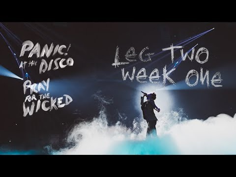 Panic! At The Disco - Pray For The Wicked Winter Tour (Week 1 Recap) - Panic! At The Disco