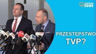 Zawiadomienie o możliwości popełnienia przestępstwa przez TVP