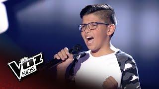 """Álvaro Figueiras  interpreta """"Culpable"""" de David Bisbal en las quintas audiciones a ciegas de la cuarta edición de La Voz Kids.  Si estás en España: - Puedes ver este vídeo en http://www.telecinco.es/lavozkids/ y el programa completo en http://www.mitele.es/programas-tv/la-voz-kids/0000000015663/  - Descárgate la app de La Voz Kids para no perderte nada del programa http://mdia.st/1i8iNqu  Si estás fuera de España: - Suscripción/Suscription: http://bit.ly/2mqAtky"""