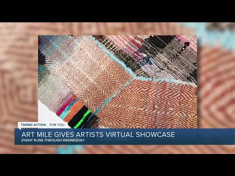 Art Mile showcases wide range of works
