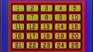 Classic Concentration- January 9, 1989 (Randy vs. Blanche)