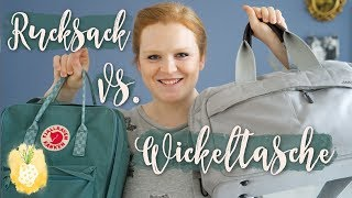 Unsere Wickeltasche | Unser (Wickel-)Rucksack | Unterwegs mit Stoffwindeln | Aennecken
