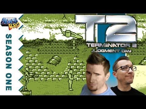 Ep.2 Let's Play TERMINATOR 2: JUDGMENT DAY | Gameboy | GAME OVER BRO