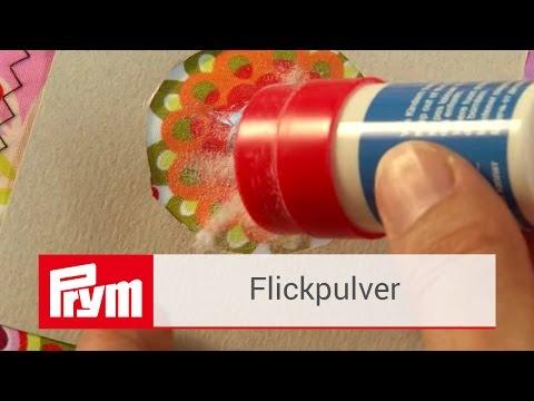 Stoffe Flicken mit dem Prym Flickpulver | Prym Zubehör
