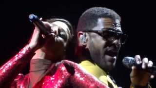 "Alicia Keys & Maxwell ""Fire We Make"" Madison Square Garden April 2013"