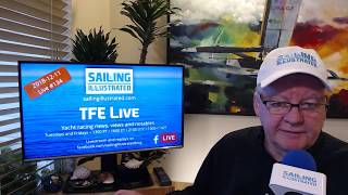 TFE LIVE: Video preview of today's show about World Sailing's growing Olympic voting scandal