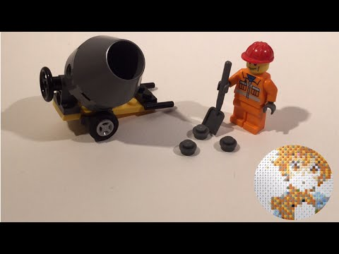 Vidéo LEGO City 5610 : Le maçon