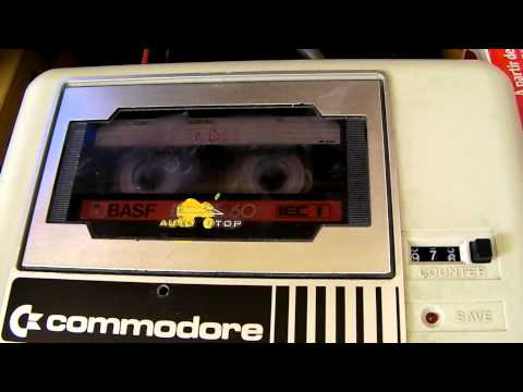 Loading retrogames on tape on C64