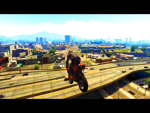 GTA V Unbelievable Crashes/Falls - Episode 10
