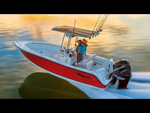 MAKO Boats: 204 CC Offshore Fishing Boat Tour