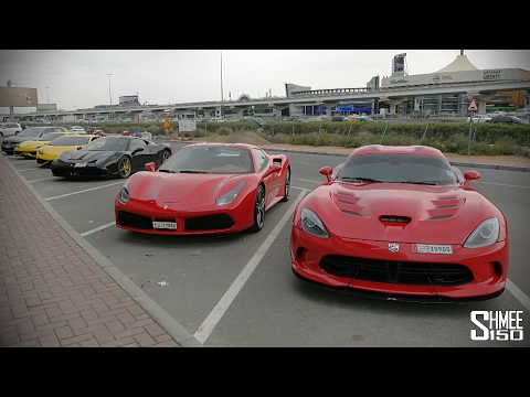 Back in DUBAI! Classic Cars vs Supercars
