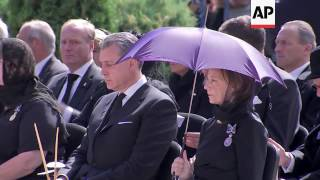 Funeral for Queen Anne of Romania