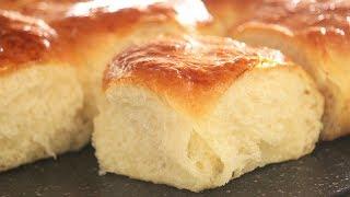 Soft Japanese Milk Bread | Fluffy Dinner Rolls | How Tasty Channel