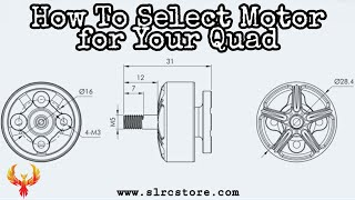 How to Select Motor for Your Drone