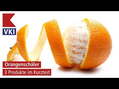 Orangenschäler im VKI-Kurztest