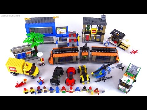 LEGO City Square full review! 2015 set 60097