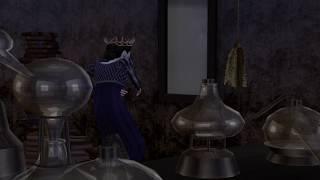 The Sims 4 machinima   Snow White : The Evil queen transformation