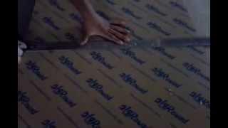 How to easily cut a acrylic sheet