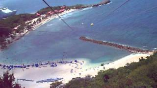 preview picture of video 'I survived the Dragon's Flight Zip-Line in Labadee!'