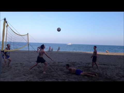 Voley Playa en la Misericordia Málaga
