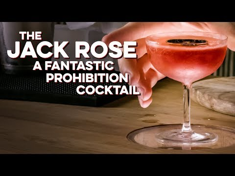 How to Drink: Jack Rose
