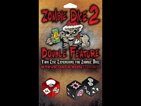 Zombie Dice 2: Double Feature Review with Strategywizard