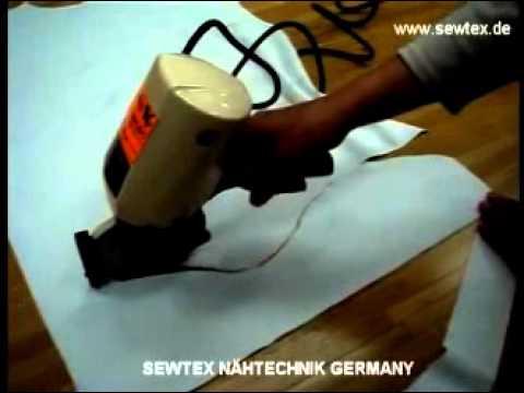 Rundmesser, Schneidemesser, Elektromesser, Textilmesser, Rundmesser für Textilien Stoffe