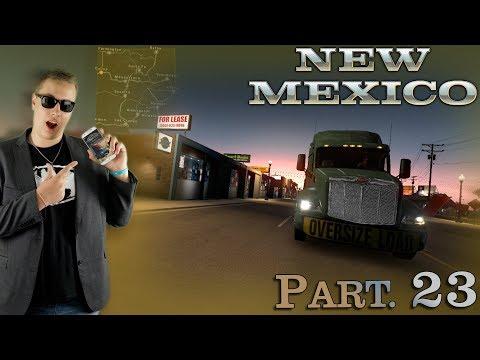 NEW MEXICO DLC! | American Truck Simulator #23