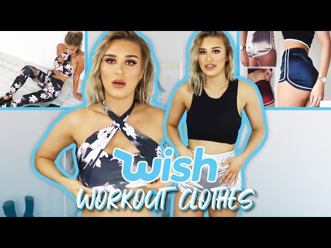 Trying On Wish Gym Clothes | FALSE ADVERTISING??