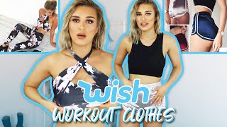 Trying On Wish Gym Clothes   FALSE ADVERTISING??