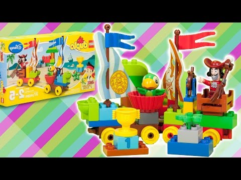 Vidéo LEGO Duplo 10539 : La course du Capitaine Crochet