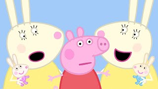 Peppa Pig Official Channel | Peppa Pig, Funny Mirrors and Twin Rabbits