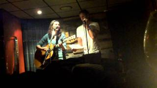 Laura Bowman and Aaron LaVigne at Blackbirds