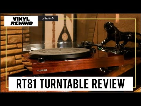 Fluance RT81 turntable unboxing & review
