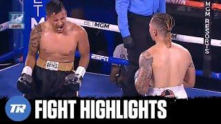 Kenny Davis Jr. & Eduardo Sanchez throw hands, Davis Jr scored knockdown & win | FIGHT HIGHLIGHTS