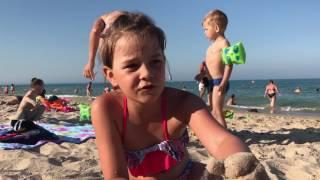 #VLOG: игрушка LoL идем на море купаемся играем в песке самый лучший день